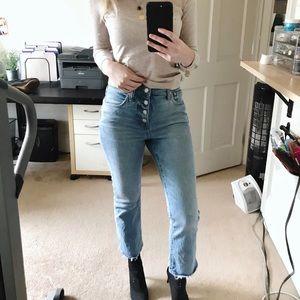 Madewell Cali Demi-Boot Jeans Dory Wash Size 26